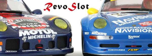 RevoSlot: des Porsches RS2 pour une nouvelle marque de Slot Car