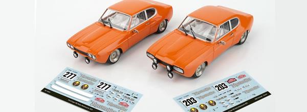 SRC&OCS: Ford Capri RS (Jägermeifter) Monte Carlo 1973