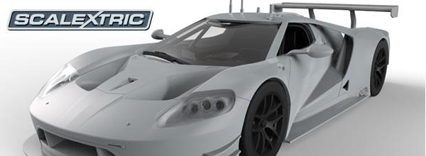 Scalextric Les ébauches de la Ford GT GTE