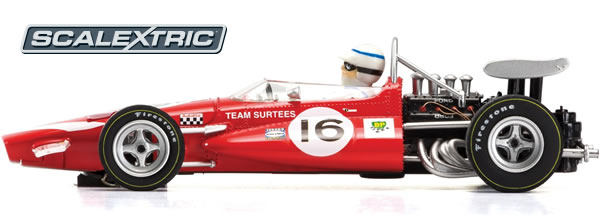 Scalextrix: la McLaren M7C John Surtees, 1970 Dutch GP - Limited Edition