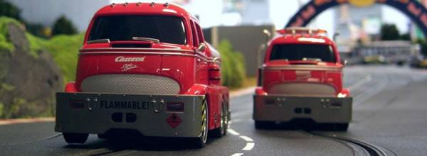 Carrera: le Tanker et le Wreker arrivent sur les circuits de slot
