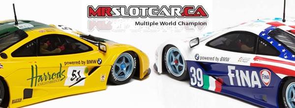 Mr Slotcar: Deux nouvelles répliques de la McLaren F1 GTR 1/32