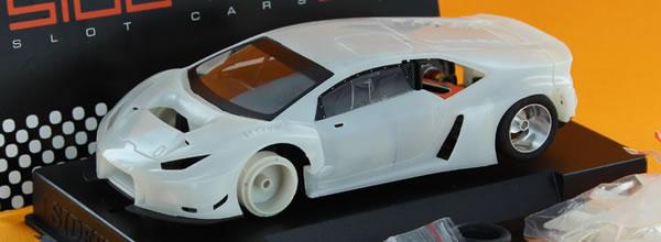 Sideways: le kit blanc de la Lamborghini Huracan est disponible