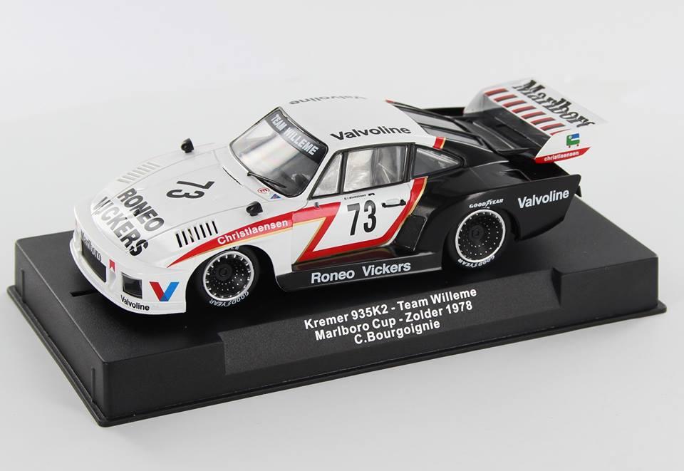 Sideways : la Porsche 935 K2 Team Willeme Marlboro Cup - Zolder 1978 - RC-SW0055