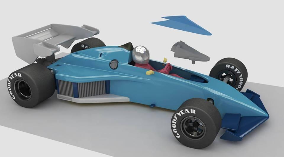 Nonno Slot: La Brabham BT52 1983 en projet