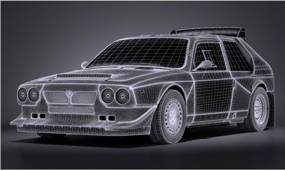 SRC : la Lancia Delta S4 Groupe B en projet pour 2019-2020.