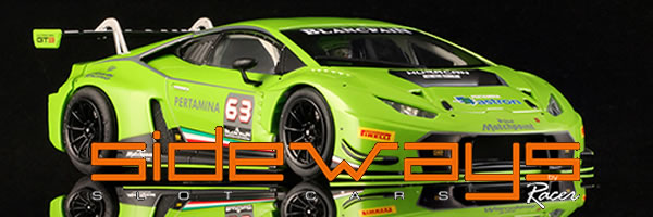 Sideways: la Lamborghini Huracán GT3 arrive