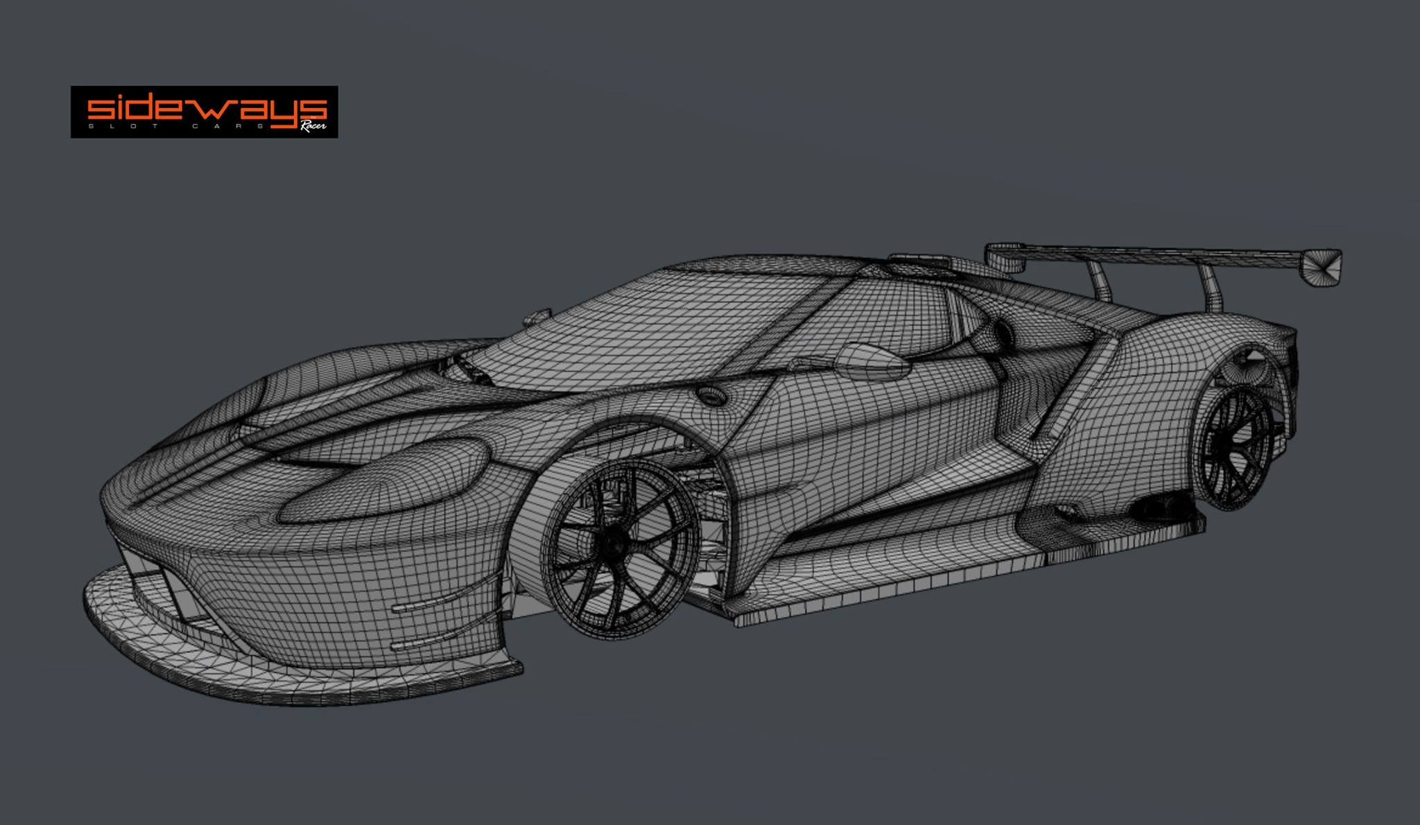 Ford GT 2017 Sideways