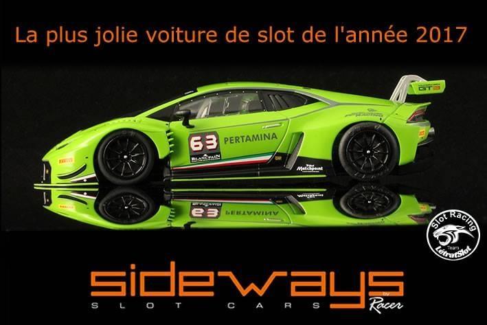 La Lamborghini GT3 Sideways 2017