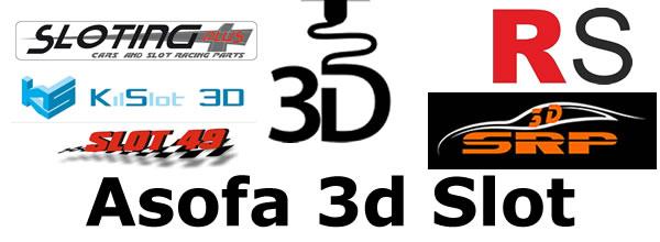 ASOFA 3d SLOT : L'association des fabricants espagnols de châssis 3d pour slot cars