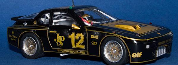 Falcon Slot Cars: la Porsche 924 GTR livrée JPS Tribute