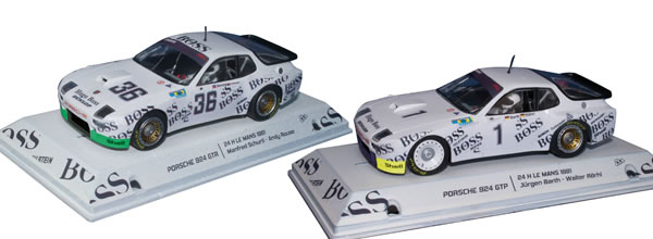 Falcon Slot Cars: le coffret Pack Team Porsche 924 le Mans 1981