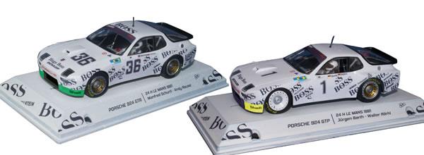 Falcon Slot Cars: le coffret Pack Team Porsche 924 le Mans 1981