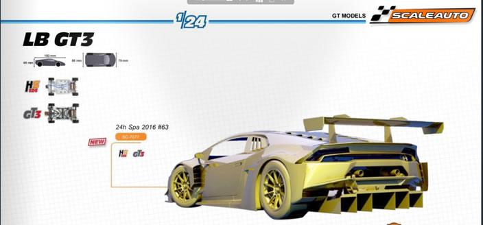 LB GT3 1-24 Scaleauto