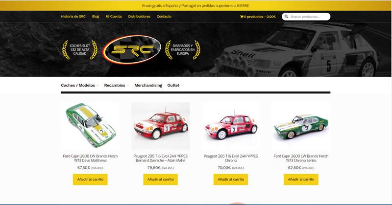 SRC: la marque de slot racing ouvre sa boutique en ligne