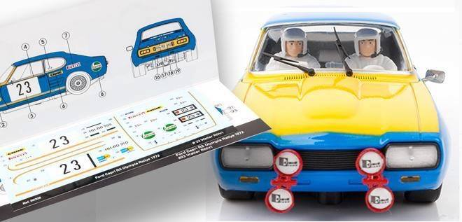 SRC : la Ford Capri 2600 RS Olympia-Rally 1972