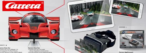 Carrera: le système Cam Car un FPV pour le slot racing