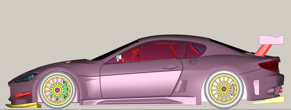 Slot.it projet Maserati MC GT3