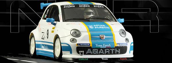 NSR Slot: la Fiat 500 Abarth Assetto Corse - Trofeo Selenia Mugello 2015