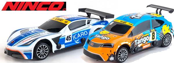 Ninco: six nouvelles slot cars équipées de carrosseries thermoformées.
