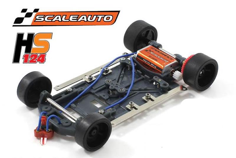Scaleauto - nouveau châssis HS124