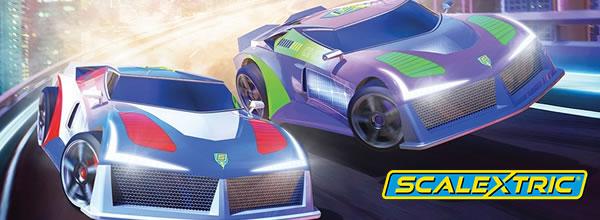 Scalextric: le coffret Micro Scalextric Sci-fi Speedway set