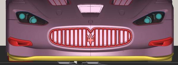 Slot.it: une Maserati Granturismo GT3 en préparation