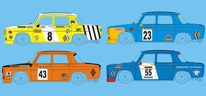 BRM: les Simca 1000 à l'échelle 1/24 pour le slot en approchent