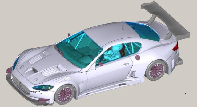 Slot.it: Des photos du prototype de la Maserati GranTurismo GT3.