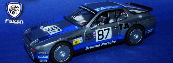 Falcon Slot Cars: La Porsche 924 GTR Le Mans 1982. (1st GTP)