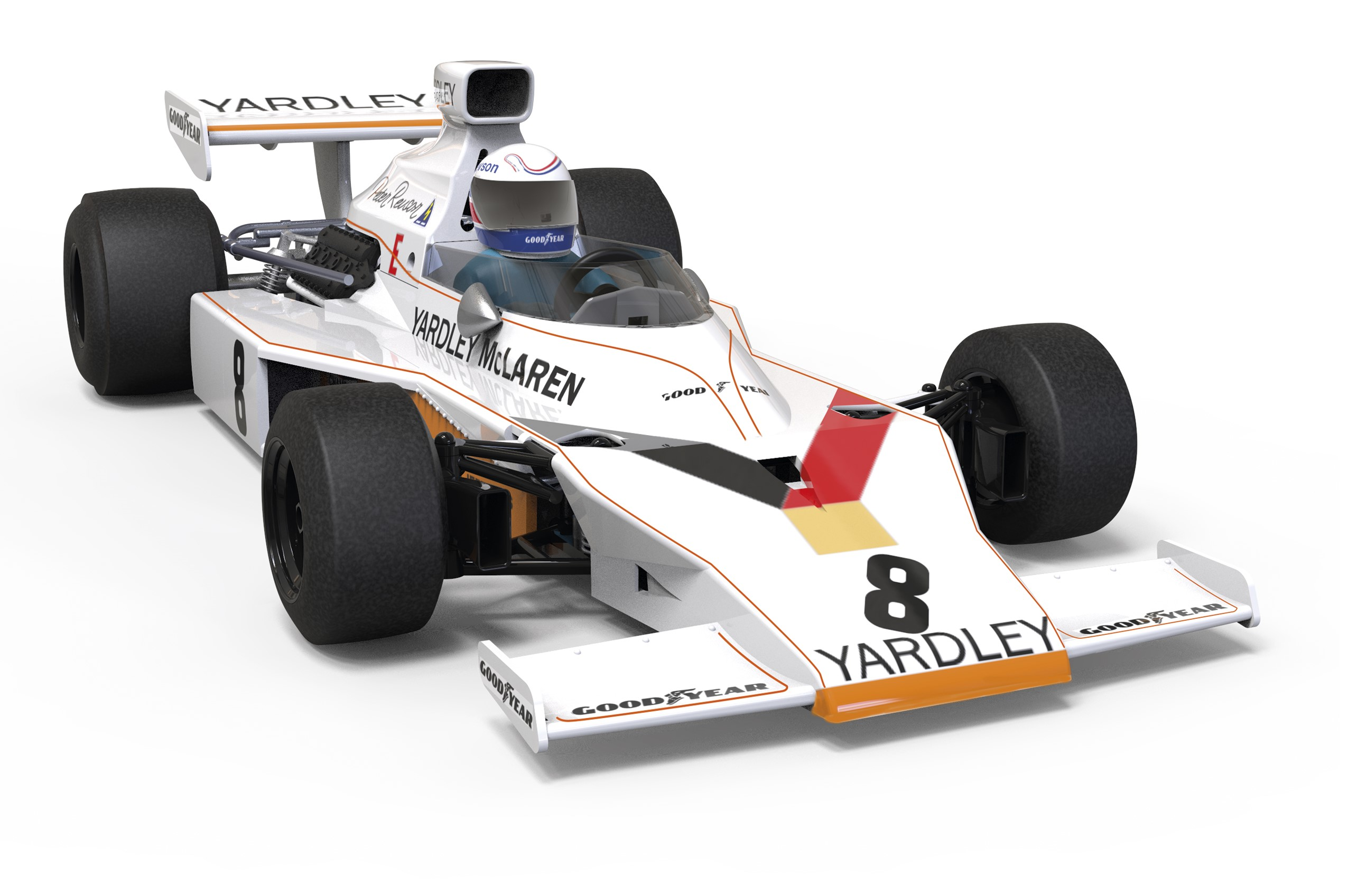 McLaren M23 Denny Hulme Grand Prix de Suède en 1973