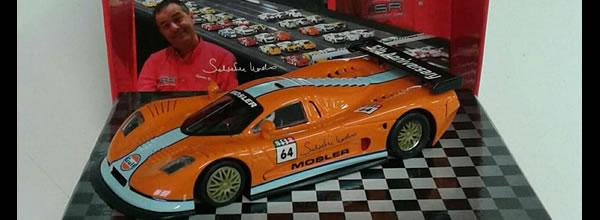 NSR Slot Une Mosler MT900R pour célébrer le 5e anniversaire de la disparition de Salvator Noviello