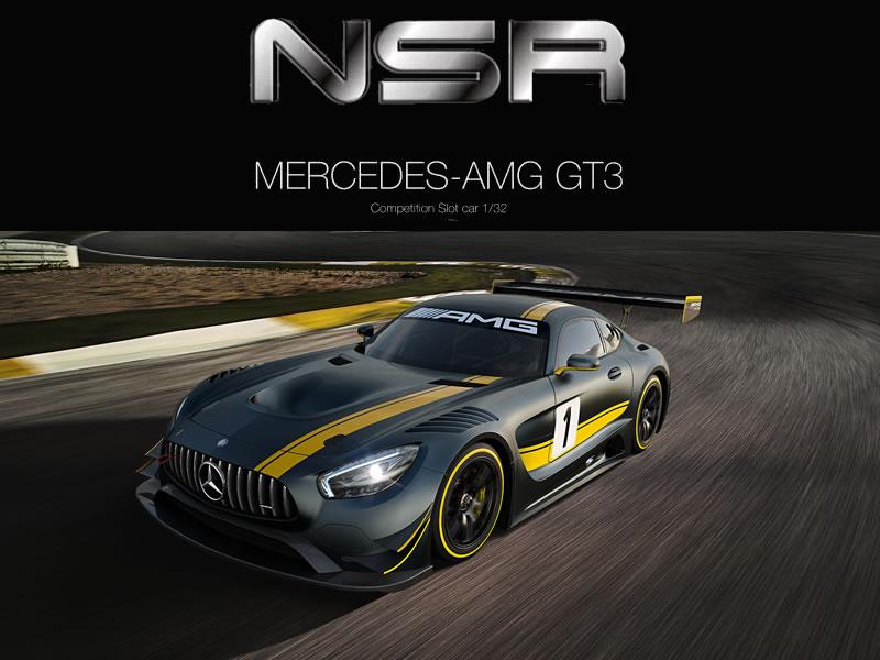 NSR : La Mercedes-AMG GT3 1/32 la surprise de Nuremberg