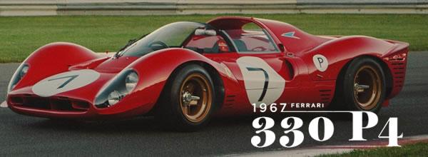 Slot.it, Policar: Des détails sur la Ferrari 330 P4 à l'echelle 1/32