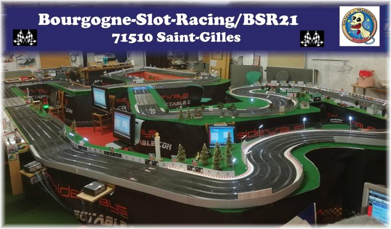 Le circuit Ninco digital Ninco du BSR21
