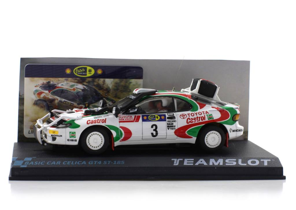 Team Slot: La Toyota Celica GT4 ST-185 #3 Rally Safari 1995