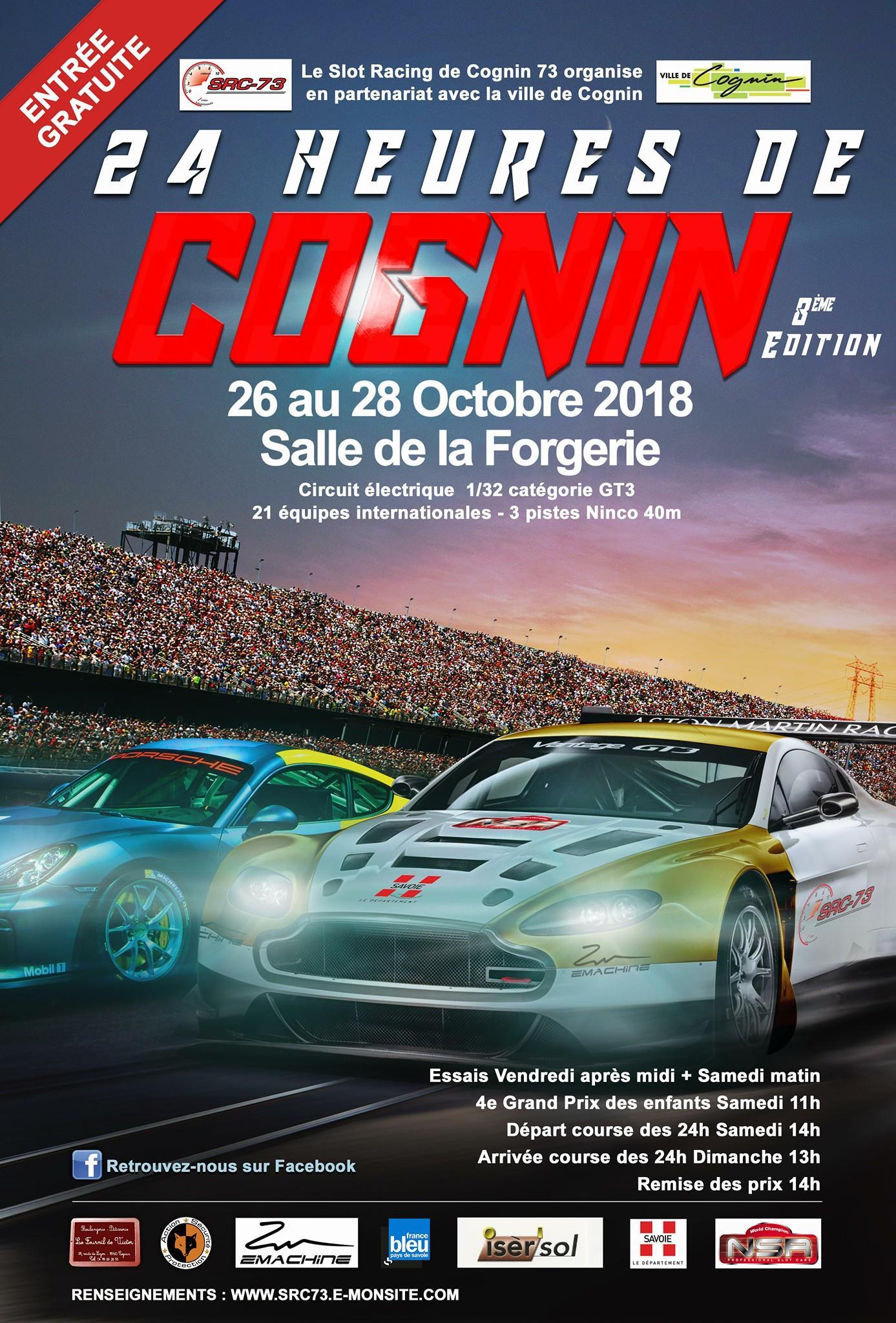 SRC73: Les 24h de Cognin 2018 sont lancées