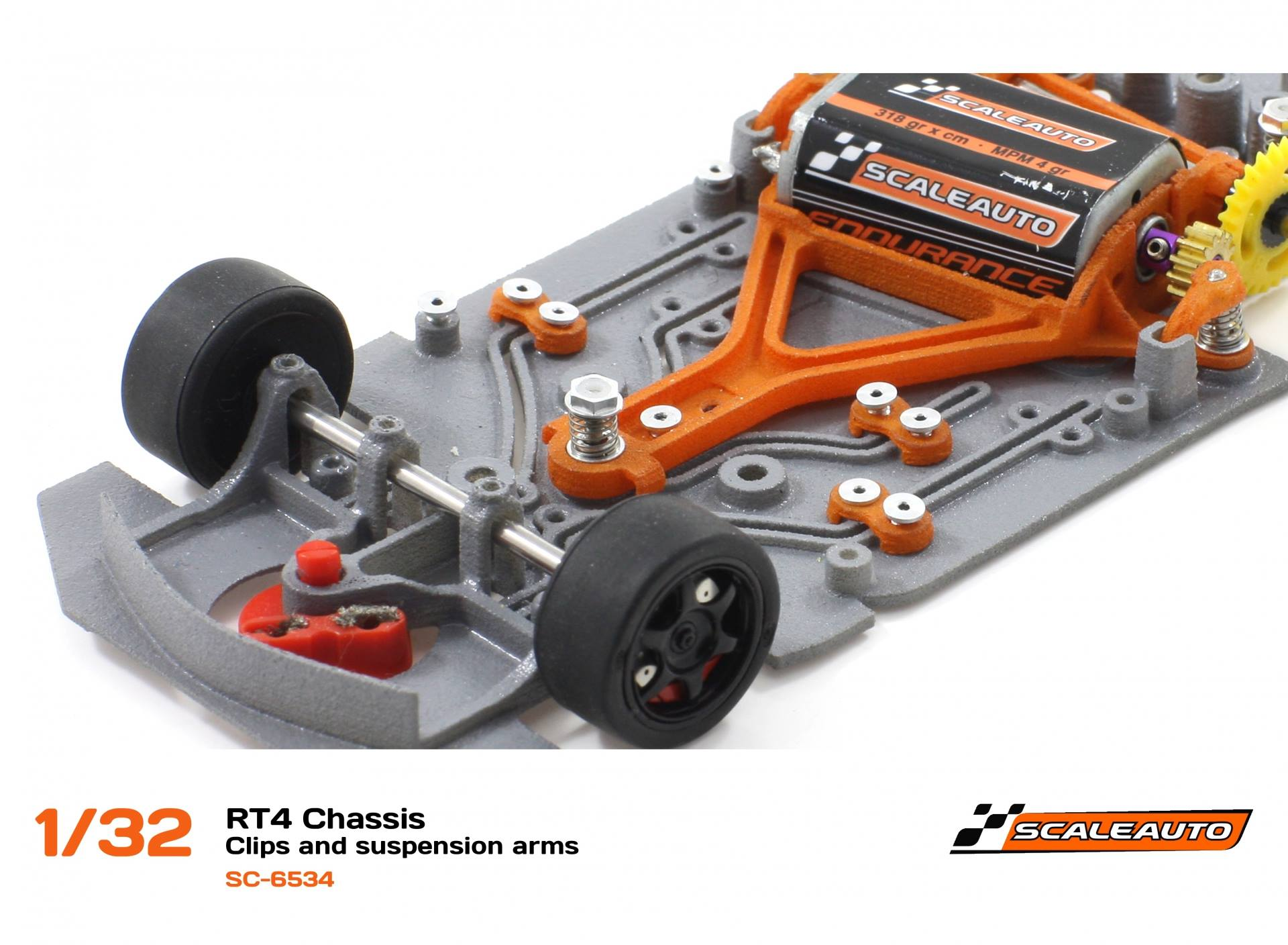 Scaleauto: les chassis Double In-Flex bientôt disponibles