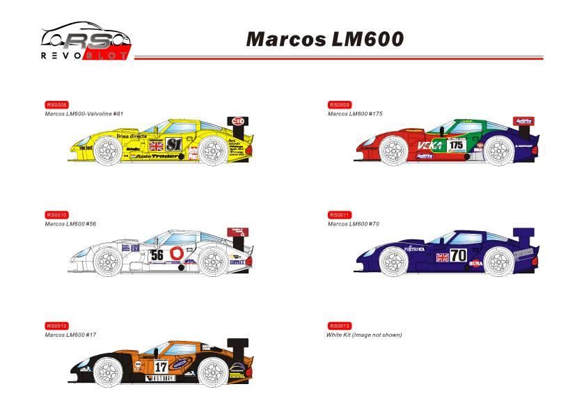 REVOSLOT : la Marcos Mantara LM600 GT2