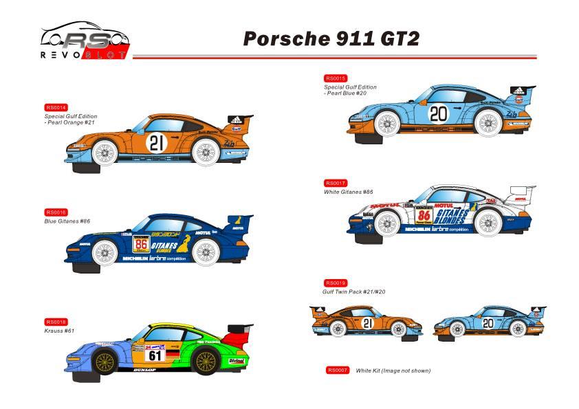 REVOSLOT nouvelles décorations pour les Porsche 911 GT2