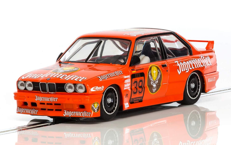 Scalextric : la BMW M3 Jagermeistr M.Ketterer, 1988 DTM, Nurburgring