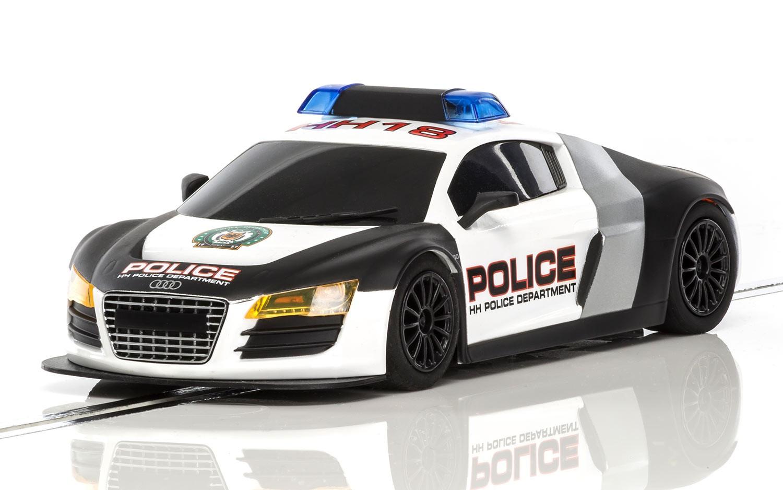 Scalextric: L'Audi R8 Police Car à l'échelle 1/32