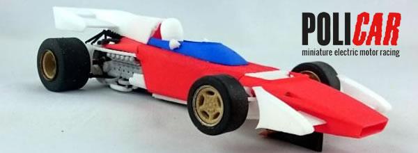 Policar: les photos du prototype de la Ferrari 312 B2 1/32
