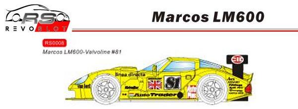 REVOSLOT la Marcos Mantara LM600 GT2 annoncée avant l'été