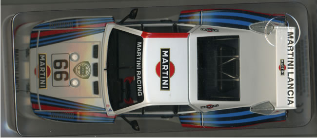 SW54 Lancia Beta Montecarlo Gr.5 Martini 24 hrs Le Mans 1981