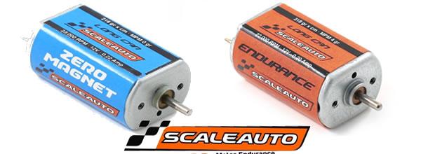 Scaleauto: Deux nouveaux moteurs pour voitures de slot racing