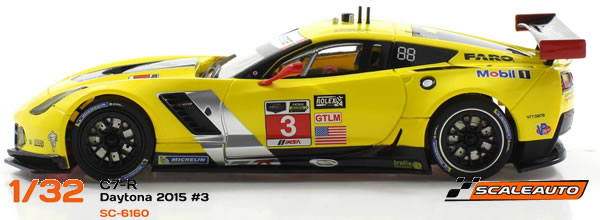 Scaleauto : les Deux Corvette C7R Daytona 2015 en version Home Série
