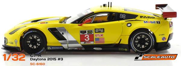 Scaleauto: les Deux Corvette C7R Daytona 2015 en version Home Série
