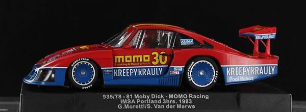 Sideways : La Porsche 935/78 Moby Dick MOMO Racing – Imsa Portland 3h. 1983