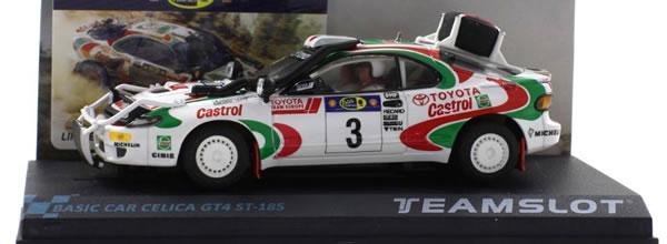 Team Slot: La Toyota Celica GT4 ST-185 #3 Rally Safari 1995
